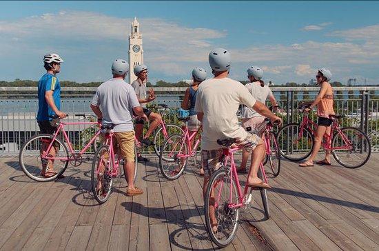 Visite en vélo au-delà des pistes...