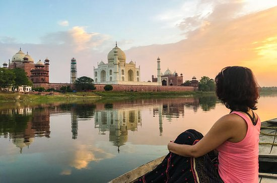 Full-Day Taj Mahal and Agra Tour with...