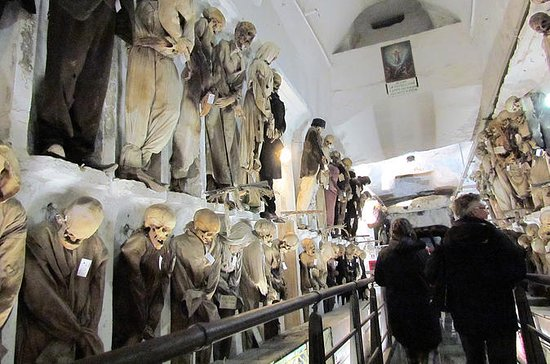 Catacombs of the Capuchins in Palermo...