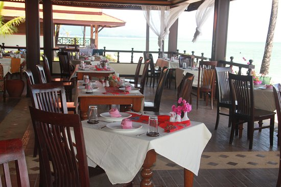 Ko Kho Khao, Ταϊλάνδη: beautiful sea view. Beach restaurant Nice environment