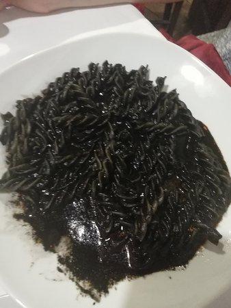 Osteria da Mariano: nero di seppia