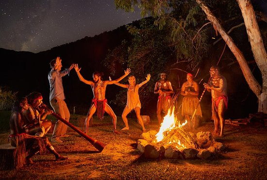 Caravonica, Australia: Night Fire by Tjapukai