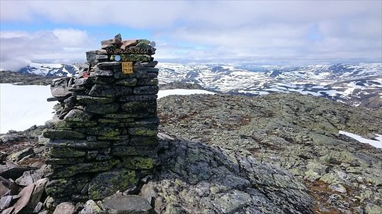Suldal Municipality, Norwegia: Fantastisk utsikt fra 1658m