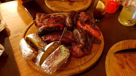 Parrilla Argentina Ushuaia: parrillada de carne