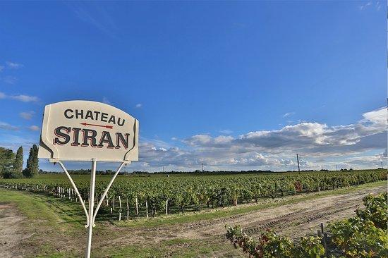 Labarde, فرنسا: Siran's entrance sign
