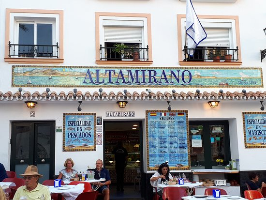 The Best Fish Of Marbella Review Of Bar Altamirano Marbella