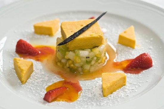 Dessert at Roisin Dubh Restaurant @ Renvyle House