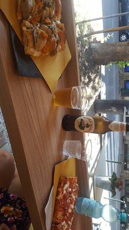 Prima Volta: Avec des champignons, courgettes et fromage fumé!! Miam!!