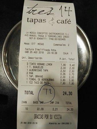 Tres 14 Tapas & Cafe Resmi