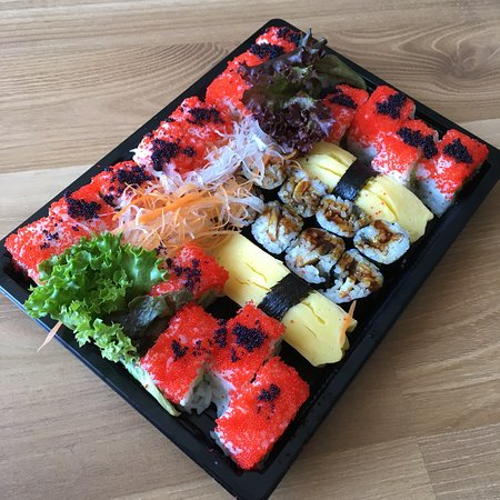 charly 39 s sushi l beck restaurantanmeldelser tripadvisor. Black Bedroom Furniture Sets. Home Design Ideas