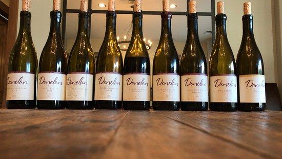 Donelan Family Wines: Plenty of good wine to taste!