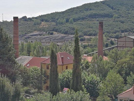 Barruelo de Santullan, Espagne: Antigua minería.