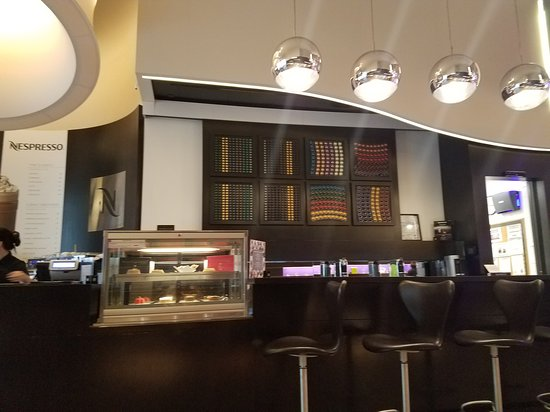 Nespresso boutique in Miami Beach: Inside