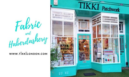 Richmond, UK: The beautiful Victorian shop front - Tikki London