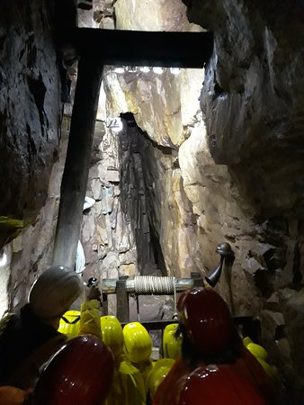 Neubulach, Jerman: At the end.. the Azurite chamber