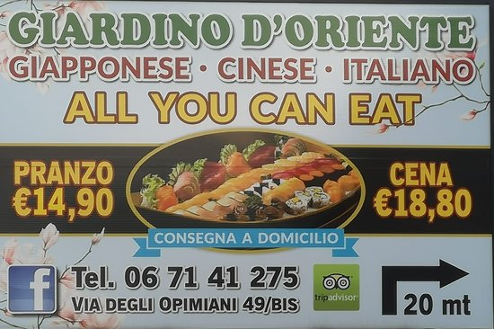 Giardino d 39 oriente rome tuscolano restaurant reviews phone number photos tripadvisor - Giardino d oriente roma ...