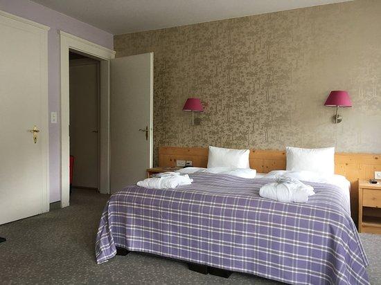 Hotel Rosatsch: Chambre située dans le bâtiment principal