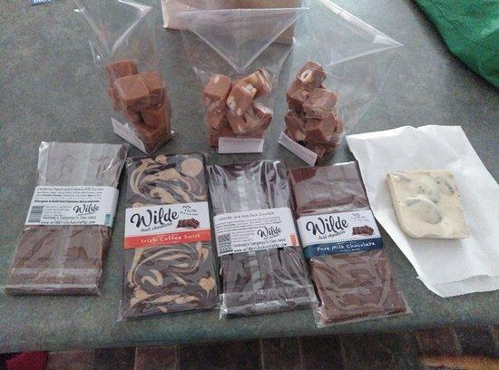 Tuamgraney, Ireland: Wilde Irish Chocolate