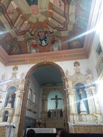 Convento Franciscano de Cairu: Igreja