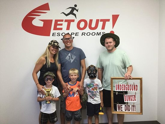 GET OUT! Escape Rooms