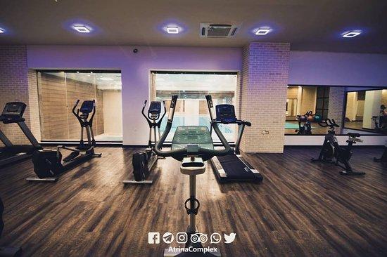Kashan, Iran: gym