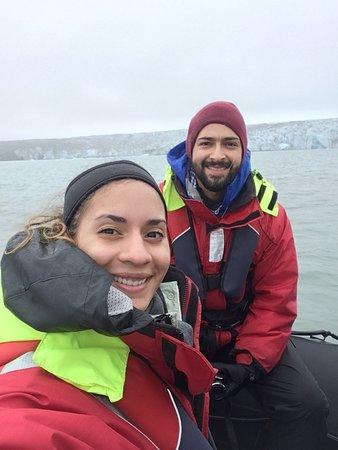 Small Group Glacier Lagoon Zodiac Boat Tour Photo