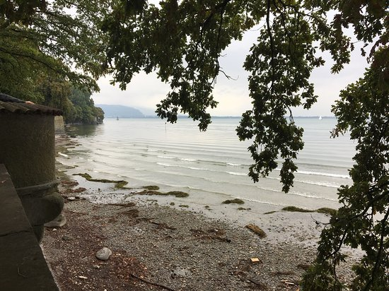 Lindau, Jerman: Blick Richtung Rheinzulauf
