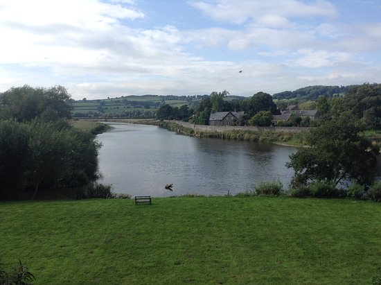 Glasbury-on-Wye, UK: View from room one