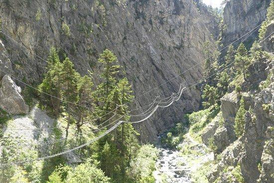 Claviere, Italië: Vista del secondo ponte, il più lungo