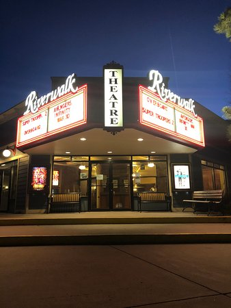 Edwards, CO: Riverwalk Theater Marquee