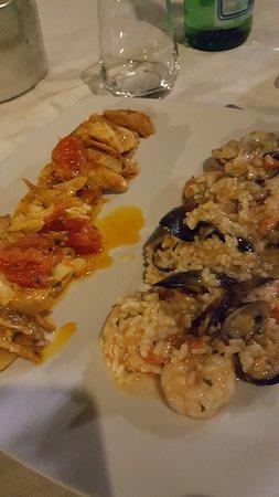 Belvedere Spinello, Italie : un altro duetto di pesce