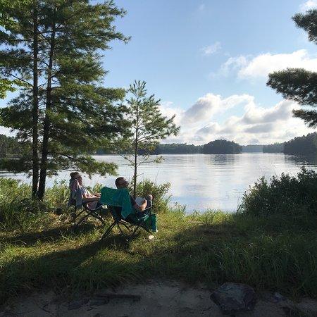 Crane Lake, MN: Voyagaire Houseboats