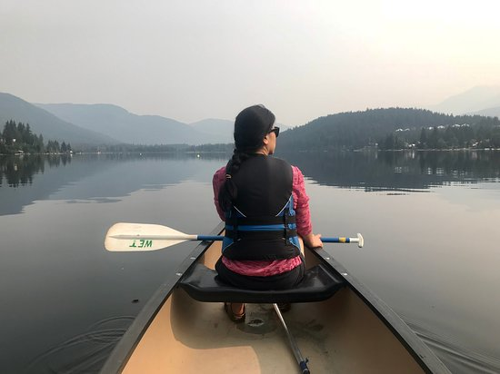 Whistler Eco Tours: Despite the hazy skies, this was a great experience.