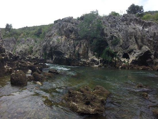 Saint-Andre-de-Sangonis, France : Gorges de l'Hérault en canyoning