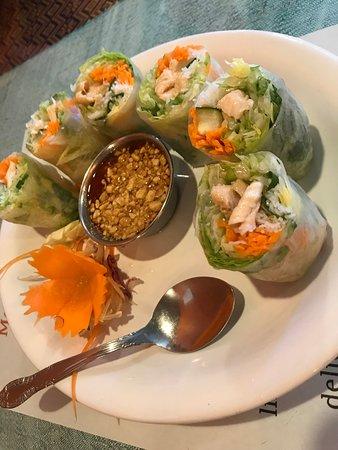 Thai Time Cafe: Soft Fresh Rolls