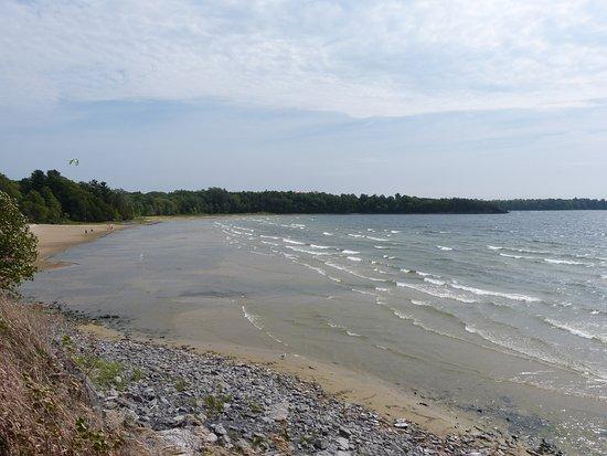 Point Au Roches State Park Main Beach