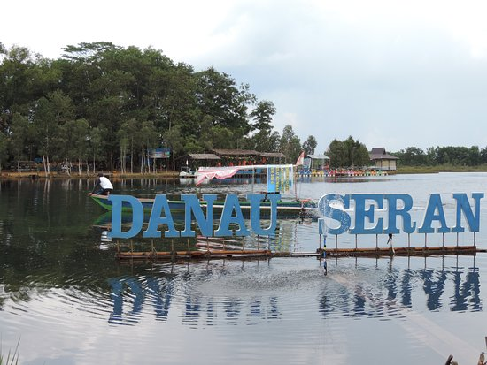 Banjarbaru, Indonesia: Danau Seran and the little island