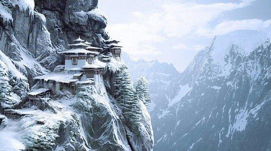 Thimphu District, Bhutan: Paro Taktshang(Tigers Nest)