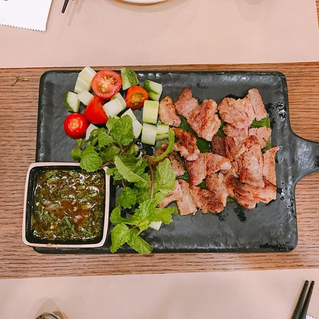 Bo Nướng Sốt Me Picture Of Koh Yam Thai Kitchen
