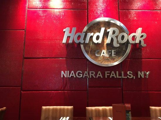 Hard Rock Cafe Niagara Falls New York Menu