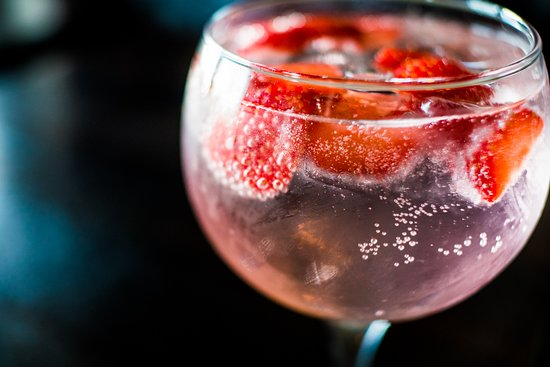 Pink Gin & Tonic - Picture of Ocean Bar & Grill, Bray - Tripadvisor