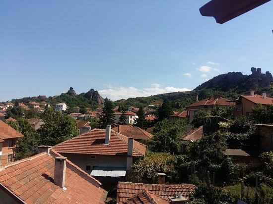 Belogradchik, Bulgaria: Vista desde la habitación