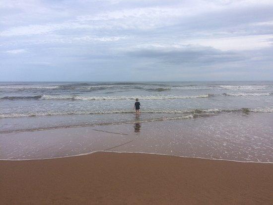 Newburgh, UK: Beach and sea