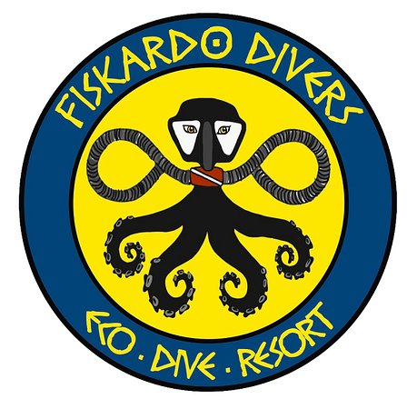 Fiscardo, Grecja: Our new logo!