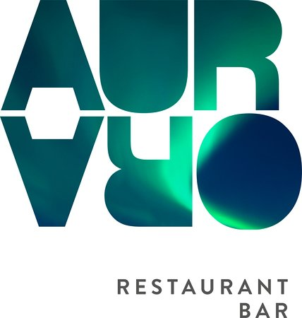 Nesna, Norway: Aurora Restaurant and Livescene. Logo