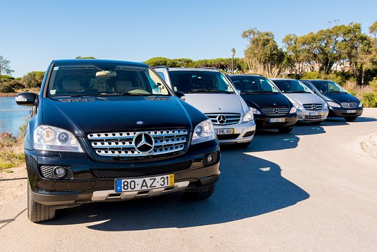 Almancil, Portugal: Some of our cars!