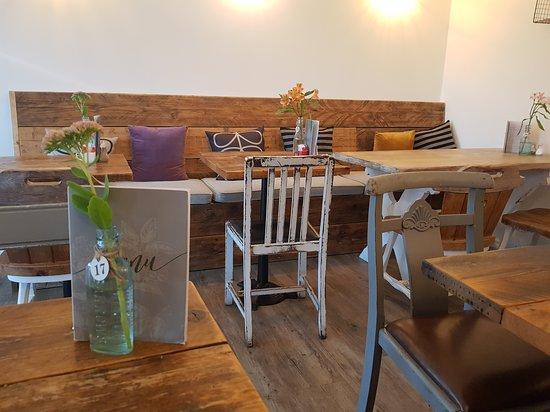 Borrowash, UK: Dining area
