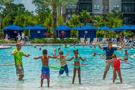 Hula Hoop Party at Surfari Water Park