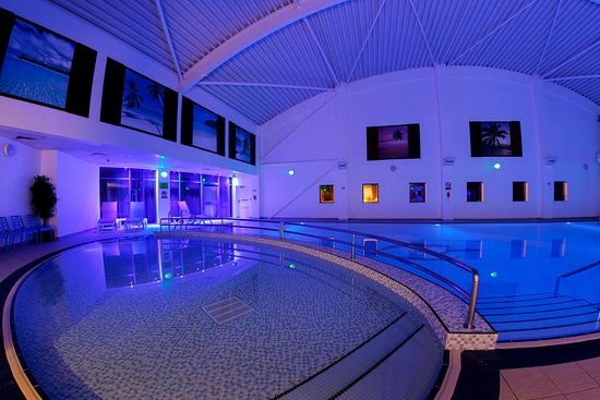 Seahouses, UK: 20 metre indoor swimming pool and children's pool