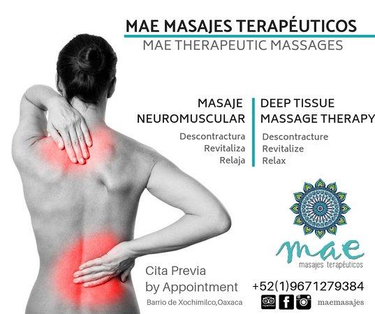 MAE Masajes Terapéuticos & Terapias Físicas